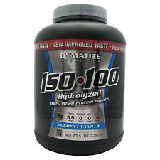 Dymatize Nutrition: ISO-100 HYDROLIZED (5 lbs) CHOOSE FLAVOR! FAST SHIPPING! A+