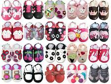 Free shipping Soft Sole Leather Baby Infant Kids Children Girl Shoes 0 - 3Y