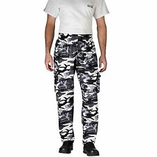 Chefwear 3200-89 Cargo Chef Pant, Arctic Camoflage all sizes XS-5XL NEW!