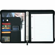 Pedova™ UltraHyde Zippered Closure Ring Binder Portfolio with Writing Pad - New