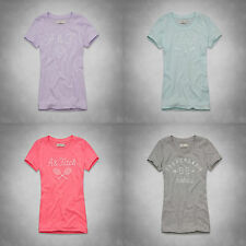 """ABERCROMBIE & FITCH WOMEN'S """"ELICIA"""" TEE NEW SIZES XS , S , M"""