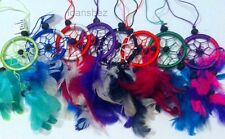 NEW Small Handmade Indonesian  Feng Shui Dream Catcher Wind Chimes Mix Colors