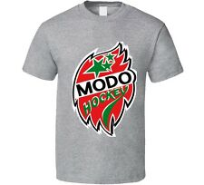 MODO SHL Örnsköldsvik Sweden Professional Hockey Gray T-Shirt NEW Swedish