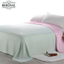 """71""""*79"""" Bamboo Throw Blanket Solid Full Size Blankets Summer Bedding Sheets New"""