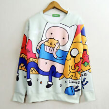 Adventure Time with Finn and Jake Cosplay Costume Sweater Jacket Coat 033
