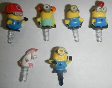 Despicable Me 2 Cell Phone Cellular Phone Charm Dust Plug Minion Smartphone