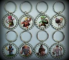 Clash of Clans COC Keychain Barbarian Archer Wizard Hog Rider Queen