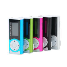 Mini USB Clip MP3 Media Player LCD Screen Support 16GB Micro SD TF LED Light SY