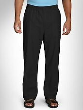 Island Outfitters Elastic-Waist Linen-Blend Pants Casual Male XL