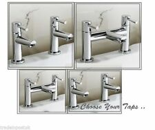 PEG BATHROOM SINK BASIN MONO BATH FILLER SHOWER MIXER TAP CHROME SOLID BRASS