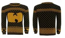 NEW MENS WUTANG CLAN 36 CHAMBERS XMAS JUMPER W0W WOW WOW WOW