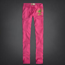 Hollister Ladies Skinny Sweatpants Joggers Sweats Pink XS S M L New