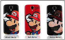 Super Mario Replacement Back Battery Cover PC Case For Samsung Galaxy S4 I9500