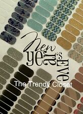 Jamberry Nails- New Years Eve Designs - Half Sheet Nail Wraps