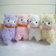 Colorful Arpakasso Alpacasso Alpaca Small Plush Toy dolls Fresh soft gift (17cm)