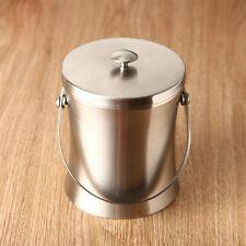 Stainless Steel Wine Bottle Cooler Champagne Beer Chiller Ice Bucket Server 2/5L