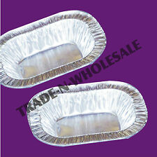 INDIVIDUAL FOIL PIE DISHES, RECTANGLE, CASES, DISPOSABLE DISH, TRAY,  CONTAINER