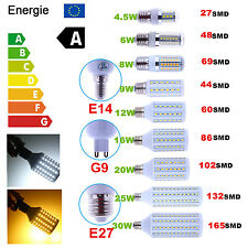 E27 E14 G9 6W 8W 9W 12W 20W 25W 30W 5050 SMD LED Spot Corn Bulb Light Bombillas