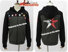 infamous Second Son long sleeved jacket hoodie with hat