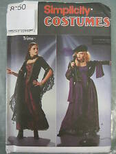 SIMPLICITY GOTH FLEETWOOD MAC COSTUME SEWING PATTERN 8750