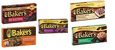 Baker's Chocolate Easy Break Bars----5 Flavors to Choose from (Pick One)