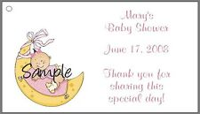 Personalized Baby Shower Favor Labels - Several Designs