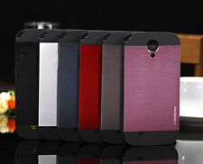 Brushed Aluminum Metal For Samsung Galaxy mini s4 i9190 Back Cover Phone Case O
