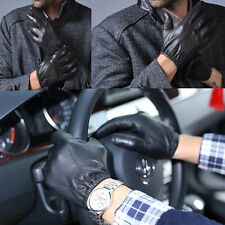 Police Tactical Gloves Genuine leather Driving Gloves Touch Screen Excellent