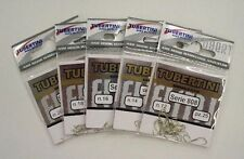 TUBERTINI SERIES 808 BARBLESS MATCH CARP HOOKS . ALL SIZES