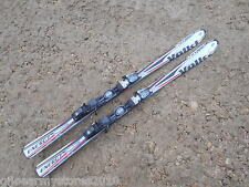 Volkl 320 Energy Silver Skis VARIOUS SIZES With Bindings Army Surplus