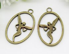 10/20/40pcs Zinc alloy beautiful angel Fit Diy Charm Pendant Making 28x17mm