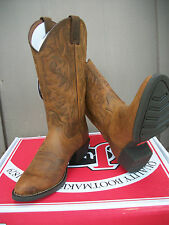 "Men's Justin 13"" Brown Rugged Tan Cow Western Boot, Style # 2561"