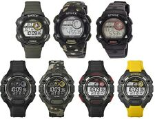 Timex Expedition Shock Digital Mens Watch - Indiglo - 100m - Alarm - Chronograph