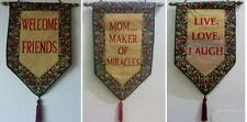 Tapestry WallHanging Banner Signs MOM MAKER OF MIRACLES FRIENDS LOL, YOUR CHOICE