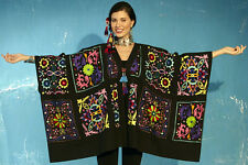 """ROJA Amazing Colorful BOHO """"Victorian Patchwork"""" Embroidered Coverup"""