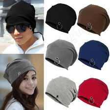 Unisex Women Mens Winter Ski Slouch Knitted Baggy Hip Hop Hat Cap Beanie 105