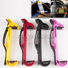 Car Steering Wheel Mount Rubber Bank Cellphone Holder Stand For Smart Phone GPS