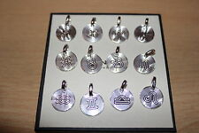 Genuine Links of London Sterling Silver Signs of the Zodiac Charms - BNIB