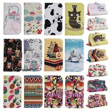 Variety Stand Flip Wallet PU Leather Hybrid Soft Case Cover For Smart Cell Phone