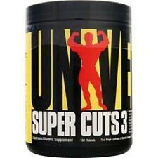 4 - UNIVERSAL NUTRITION Super Cuts 3 in 130 tabs buy 4 - 5 or 6 & Save More