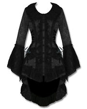 Gothic Victorian Steampunk Medieval Corset JAWBREAKER Riding Jacket Coat