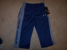 NEW Under Armour elastic waist mesh track pants boys sz 0 3 6 12 months