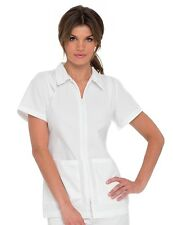 Scrubs Landau Womens Student Tunic 8058 WHITE