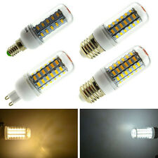 E27 E12 G9 E14 GU10 3W 7W 9W 12W 15W SMD 5730 LED Corn Light Bulb Cover 110 220V