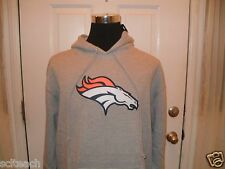 Brand New Denver Broncos NFL Team Apparel Long Sleeve Hooded Sweatshirt Hoodie