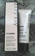 Mary Kay Timewise LUMINOUS WEAR Liquid Foundation Normal/Dry Skin -Pick Shade!