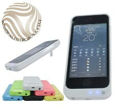 NEW iPhone 5 5S Portable Power Bank Charger External Backup Battery Case 2200mAh
