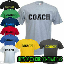COACH GYM T SHIRT Golds Powerhouse Worlds trainer instructor ref  weightlifting