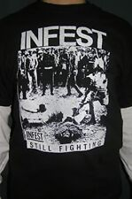 Infest- shirt, mankind, no fraud, harms way, boston strangler, hounds of hate