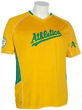 Oakland A'S Athletics Majestic Vintage Mens Champ Jersey Gold Big & Tall Sizes